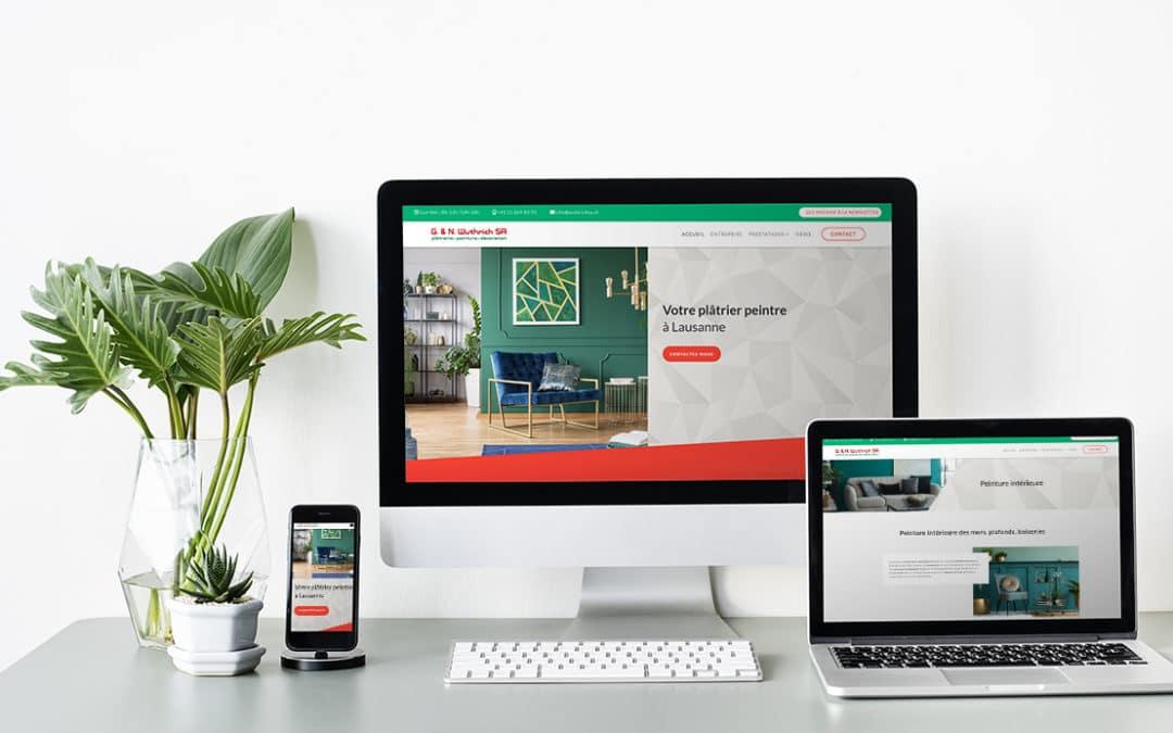 Nous sommes heureux de vous présenter notre nouveau site web